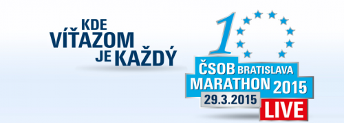 ČSOB Bratislava Marathon 2015