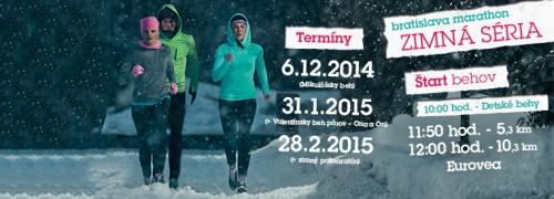 Bratislava Marathon Zimna Seria – WINTER TOUR 2015